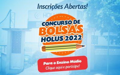 Inscrições Concurso de Bolsa 2022 – Ensino Médio